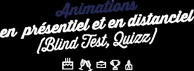 Animations en présentiel et en distanciel